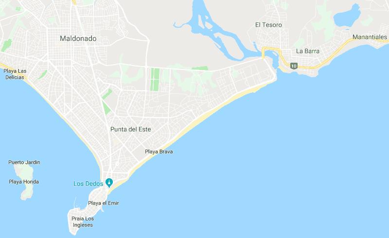 Onde ficar em Punta del Este: mapa dos bairros