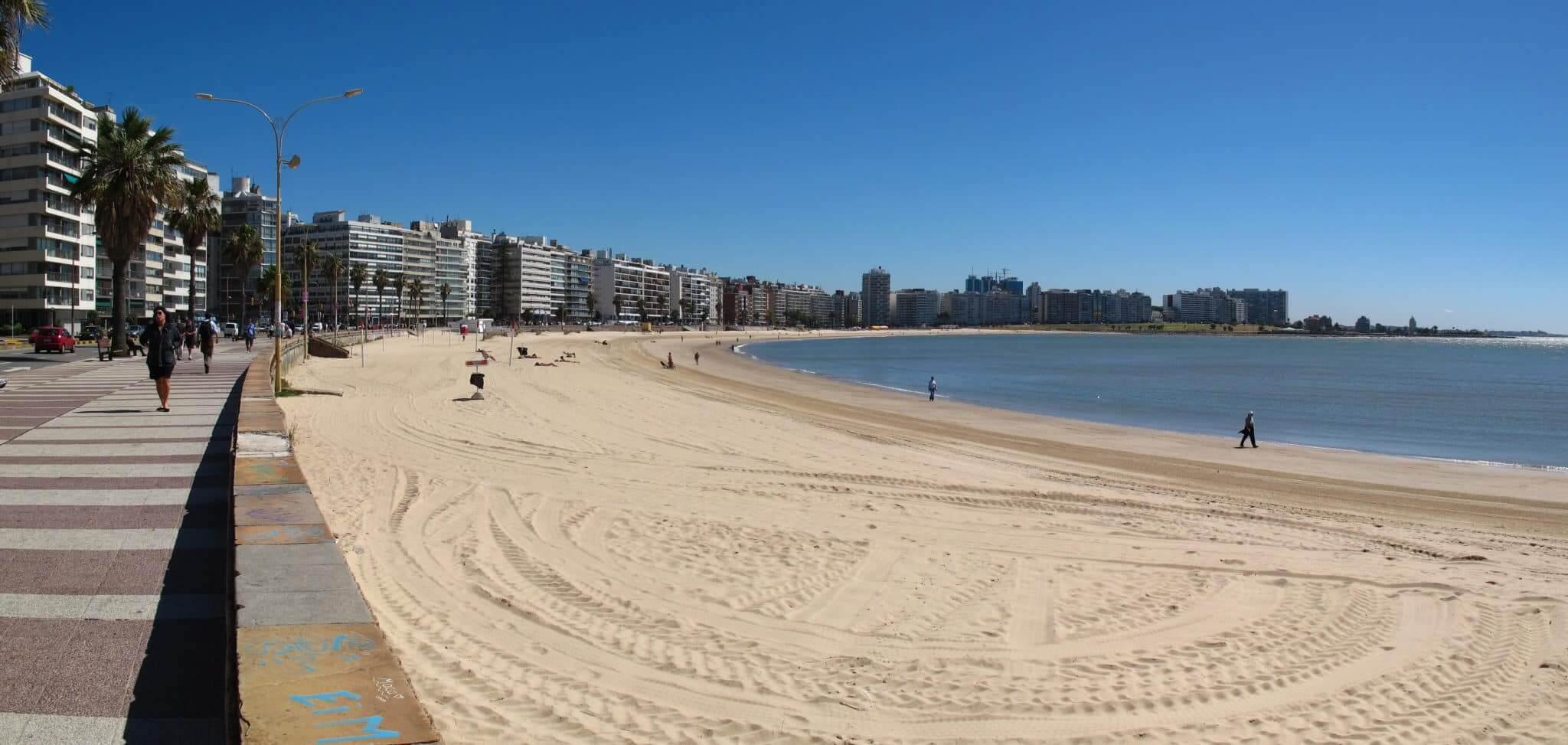 O que fazer em Montevidéu: Playa de los Pocitos