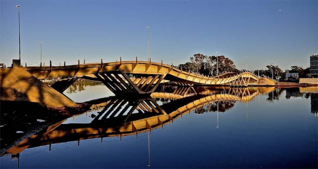 Roteiro de 4 dias no Uruguai: Puente de La Barra (ponte ondulada)