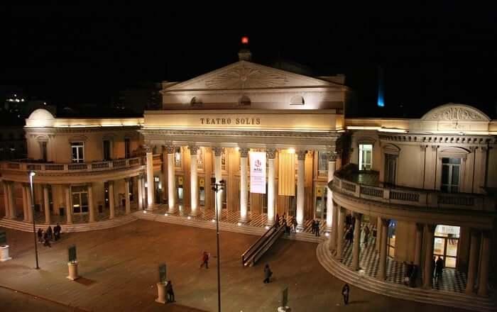 Pontos turísticos em Montevidéu: Teatro Solís