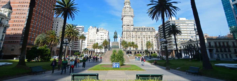 Pontos turísticos em Montevidéu