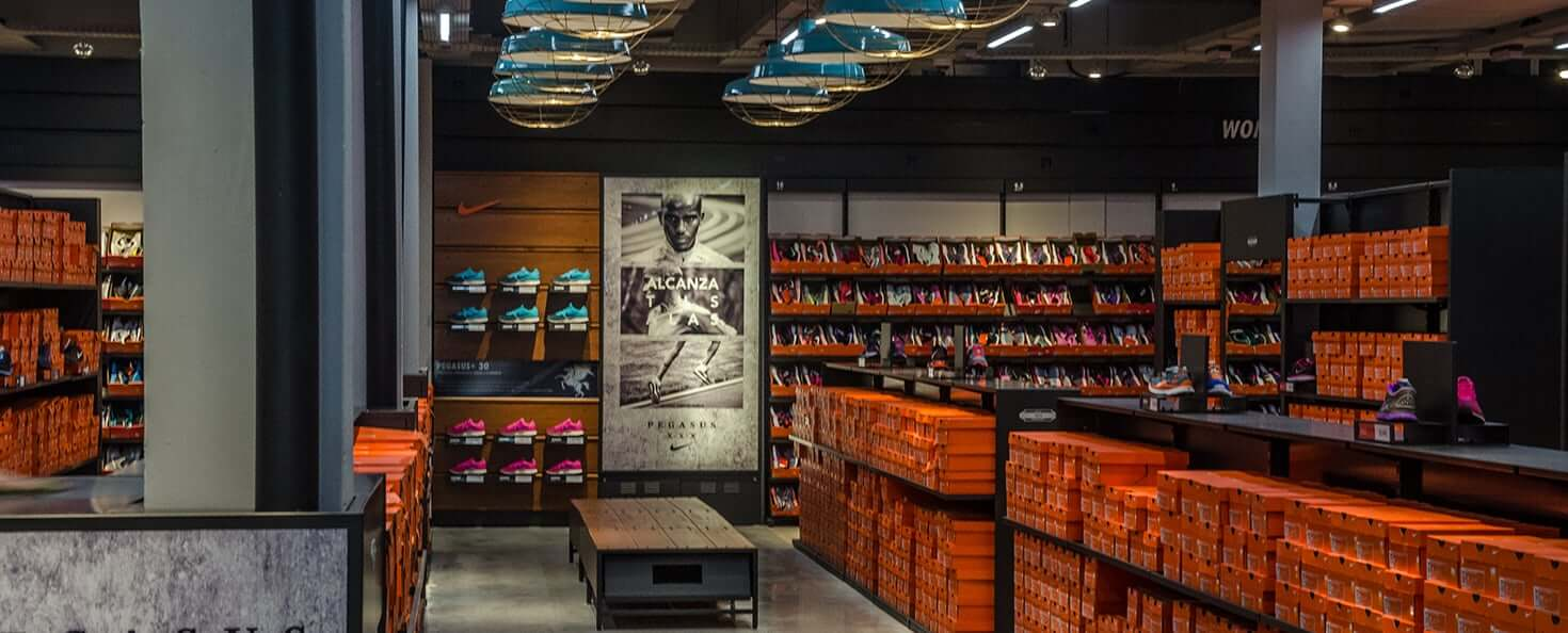 Outlets em Montevidéu: Nike Factory Store