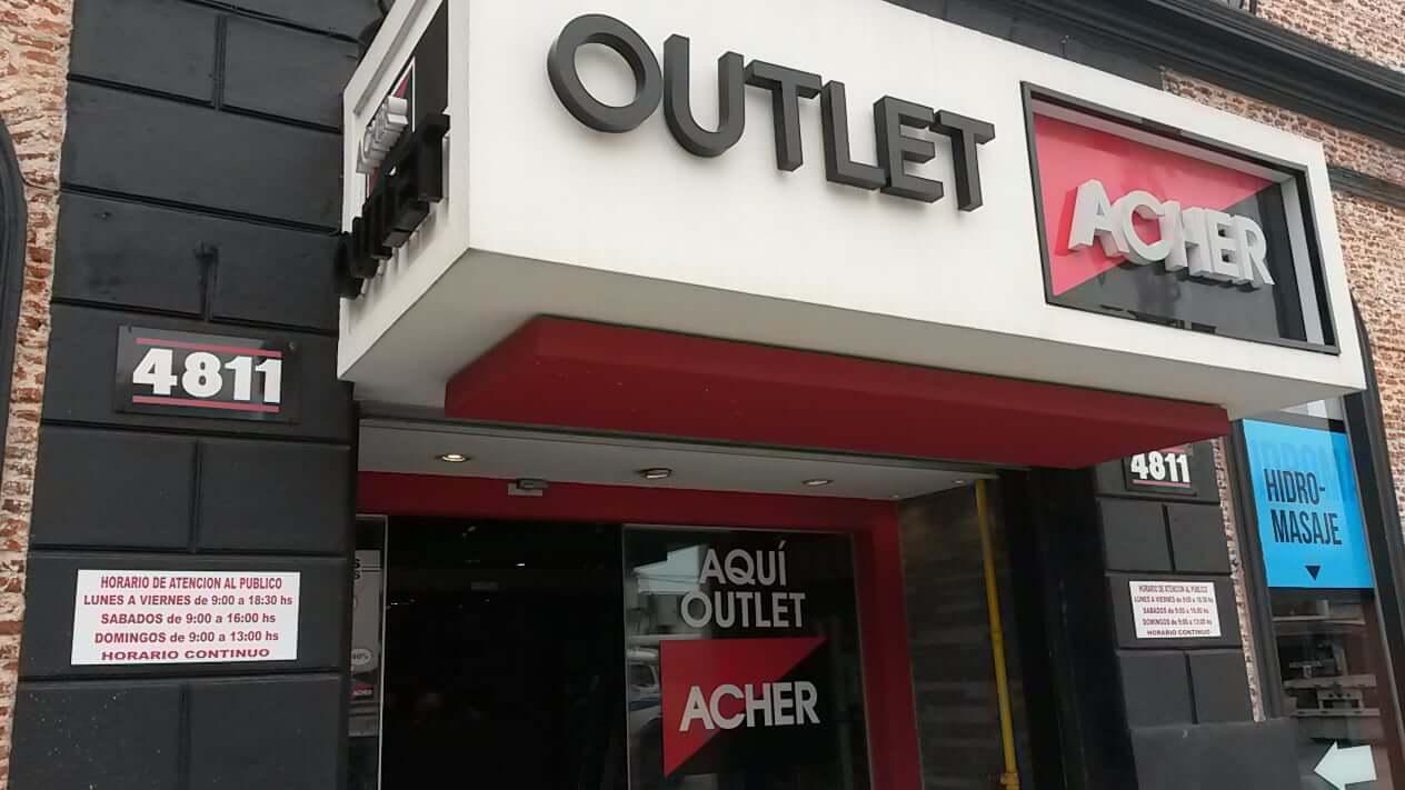 Outlets em Montevidéu: Outlet Acher