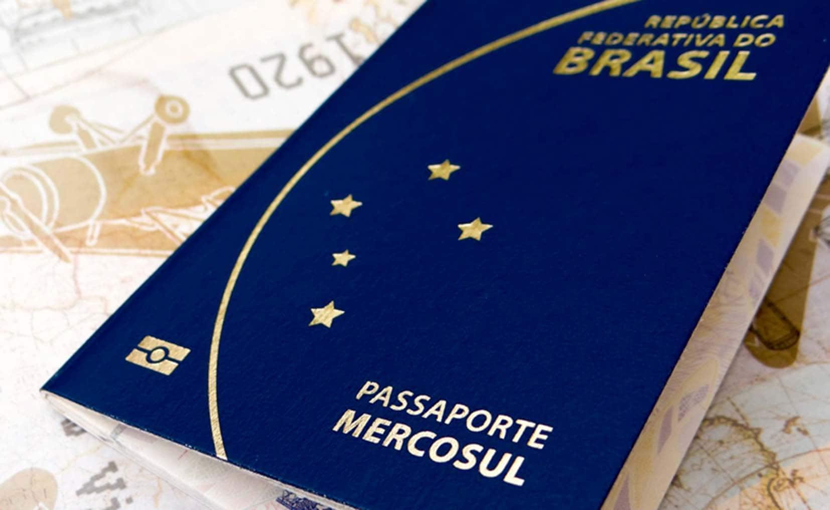 Precisa de visto para entrar no Uruguai: Passaporte brasileiro MERCOSUL