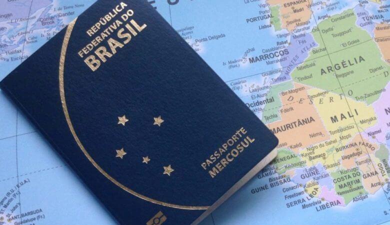 Imigração no Uruguai: passaporte brasileiro MERCOSUL