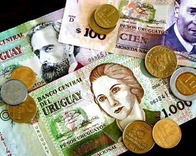 Como levar dinheiro para o Uruguai: pesos uruguaios