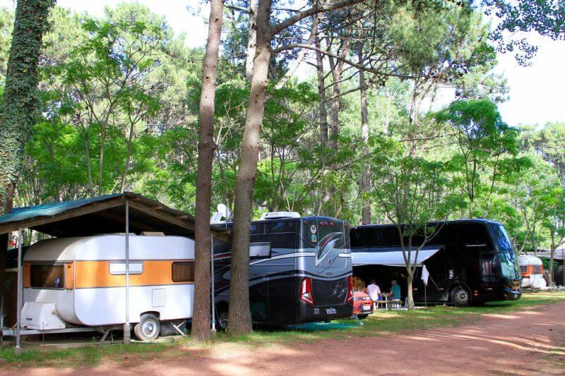 Viagem de trailer no Uruguai: Camping San Rafael