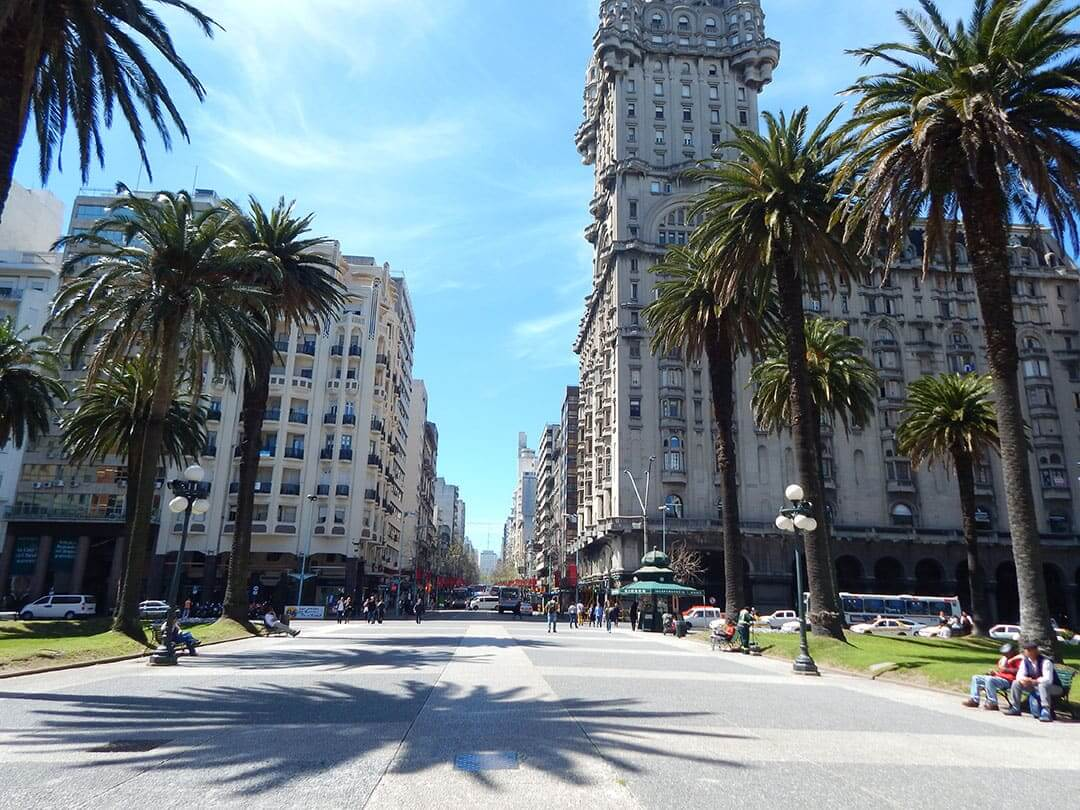 Roteiro de 6 dias no Uruguai: centro de Montevidéu