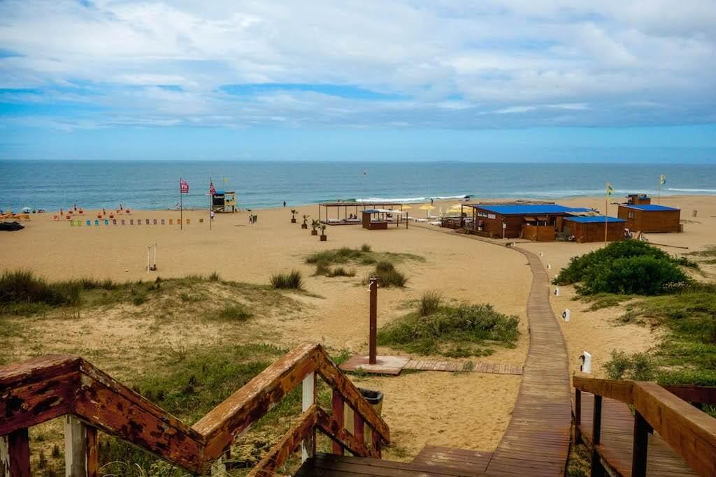 Praias em Punta del Este: Playa Bikini