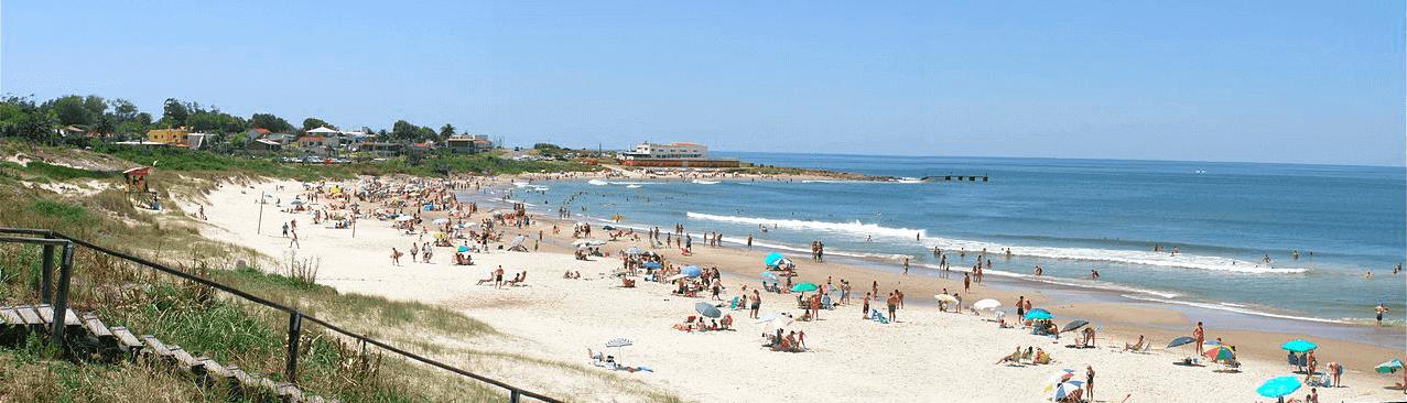 Praias no Uruguai: Playa de Cuchilla Alta em Piriápolis