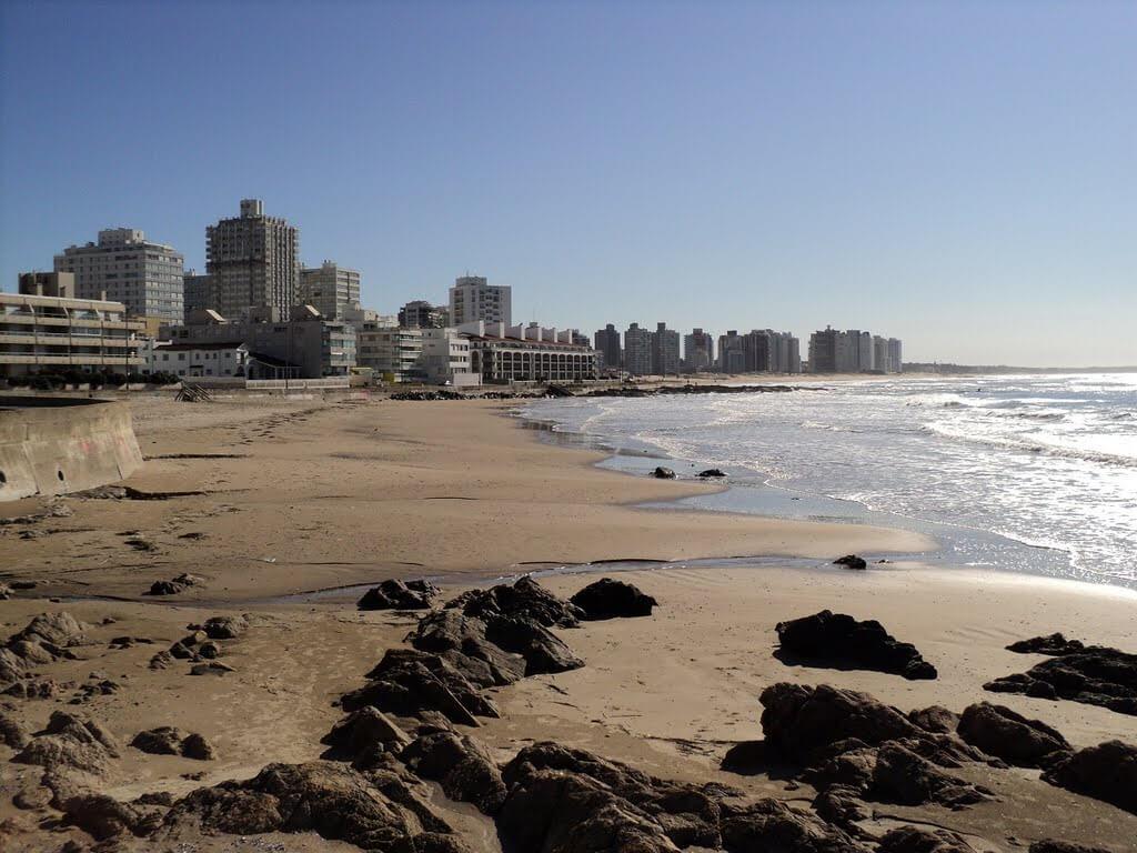 Praias em Punta del Este: Playa El Emir