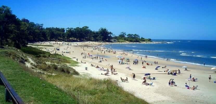 Praias no Uruguai: Playa Mansa em Atlántida