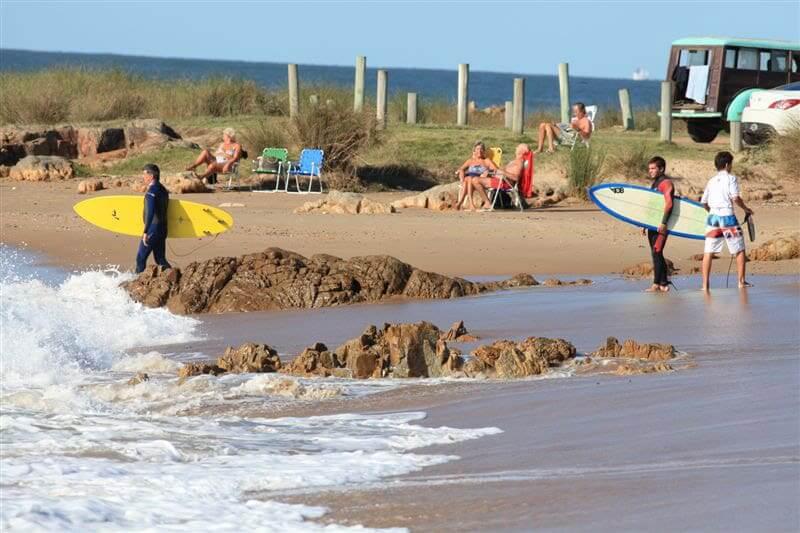 Praias em Punta del Este: Playa Montoya