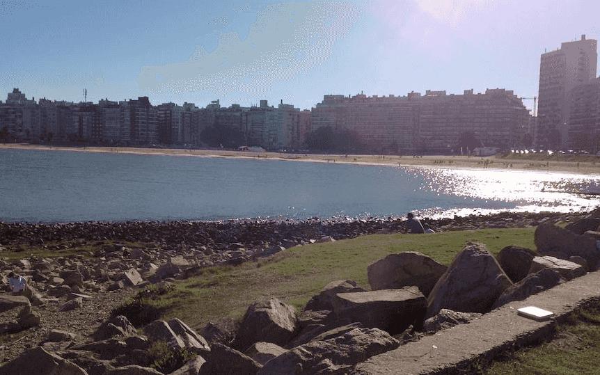 Praias em Montevidéu: Playa Punta Carretas