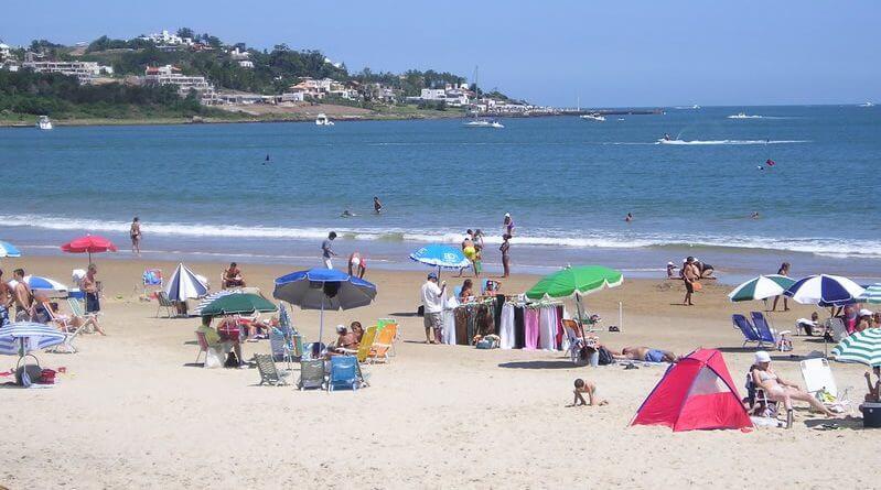 Praias em Punta del Este: Playa Solanas