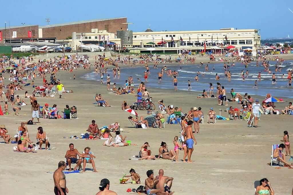 Praias em Montevidéu: Playa Verde - Punta Gorda