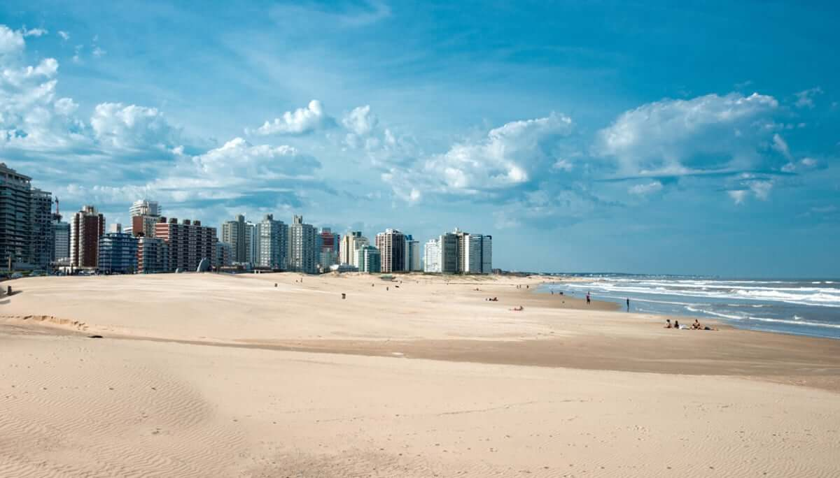 Passeios em Punta del Este: praia em Punta del Este