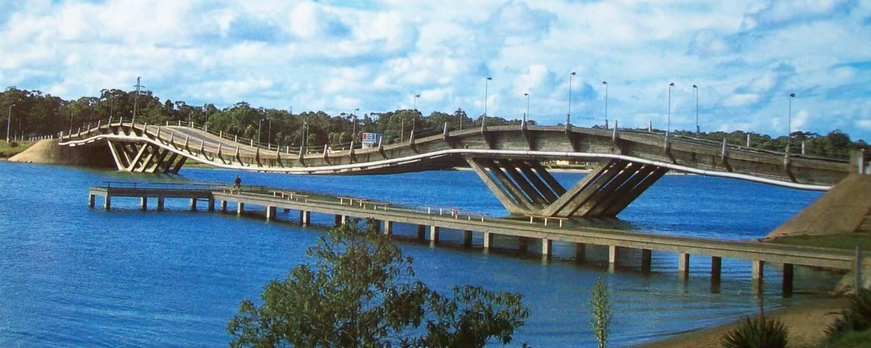 Roteiro de 5 dias no Uruguai: Puente de La Barra - Ponte Ondulada
