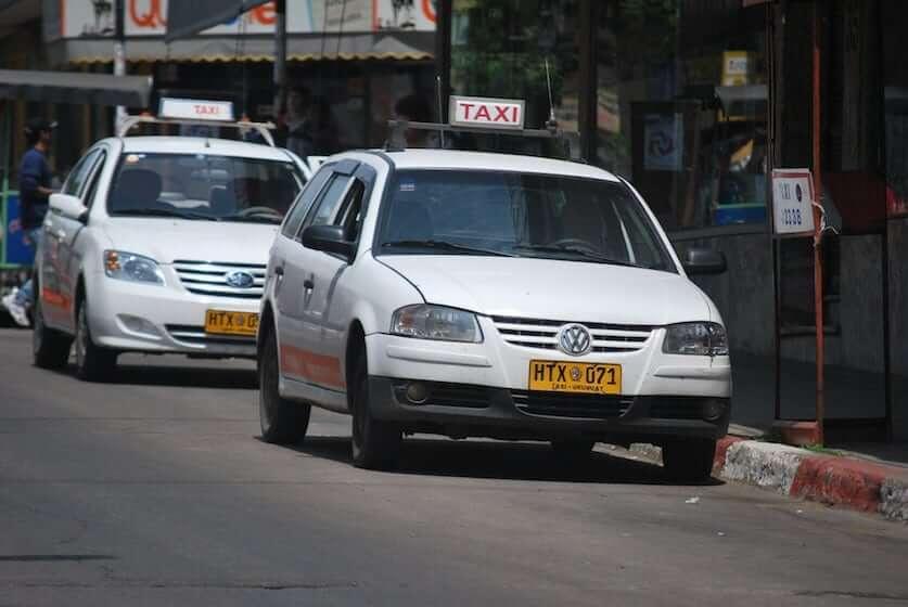Gorjetas em Punta del Este: gorjeta em táxi