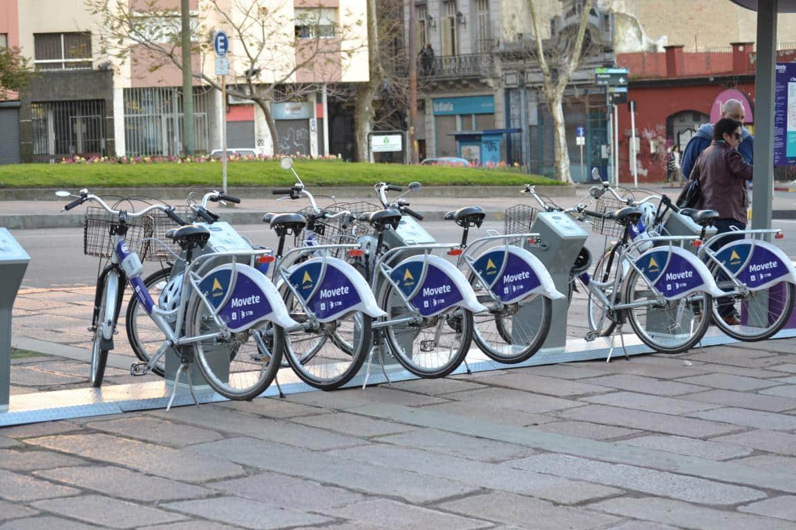 Como andar e se locomover em Montevidéu: bicicleta