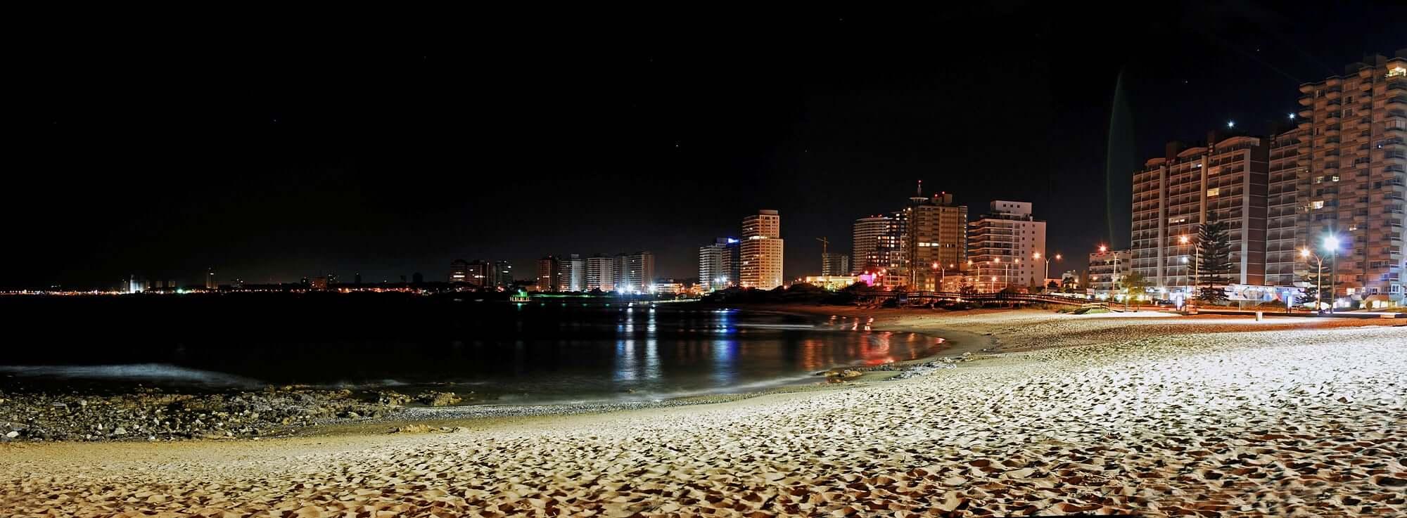 Roteiro de 6 dias no Uruguai: praia em Punta del Este