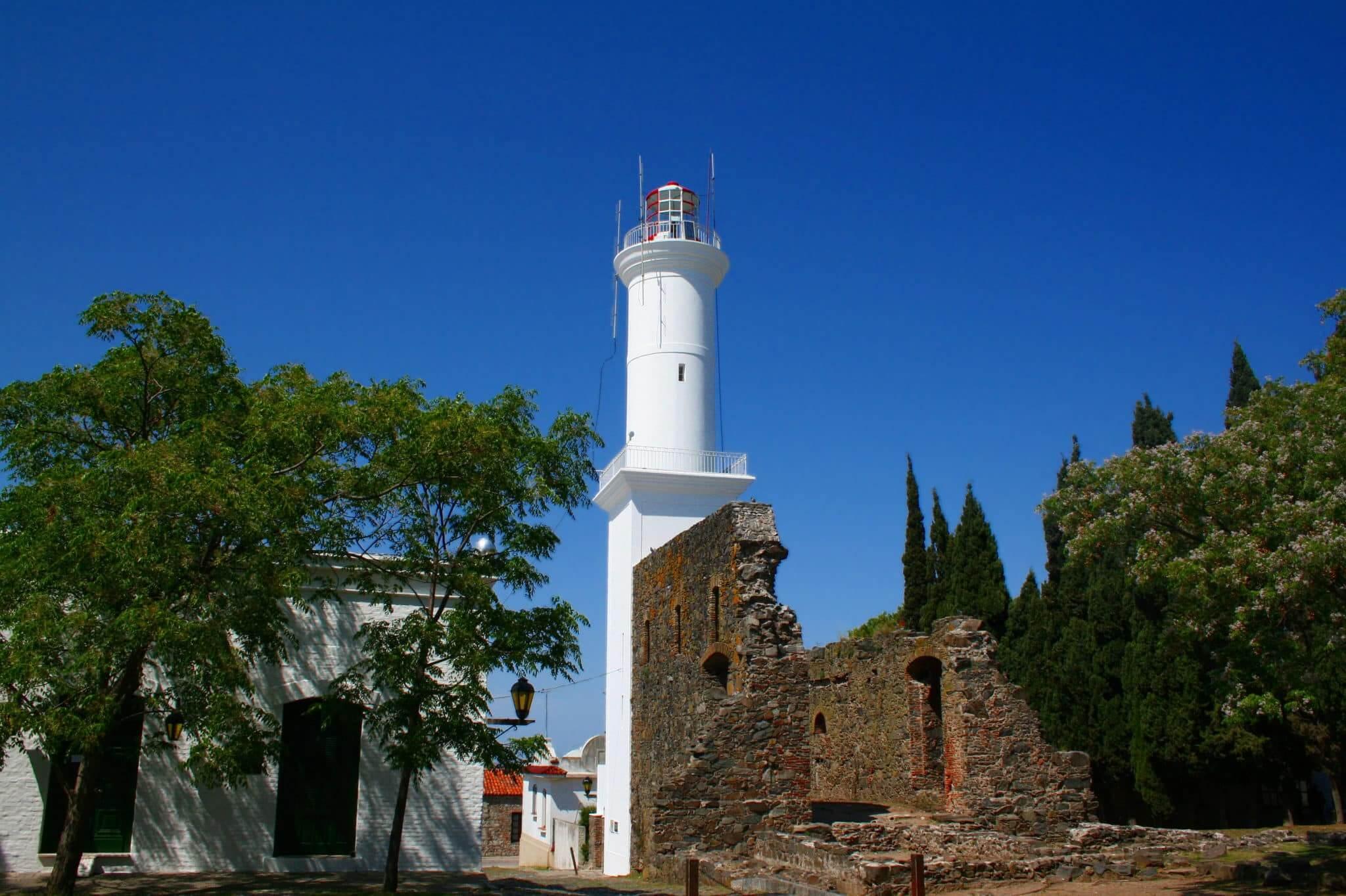 Roteiro de 6 dias no Uruguai: Farol de Colonia del Sacramento