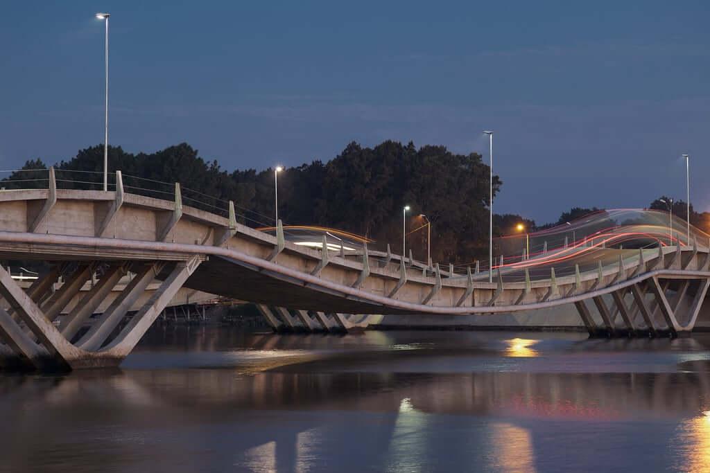 Roteiro de 7 dias no Uruguai: Puente de La Barra (ponte ondulada)