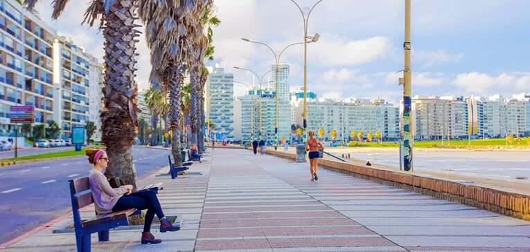 Roteiro de 5 dias no Uruguai: Rambla de Montevidéu