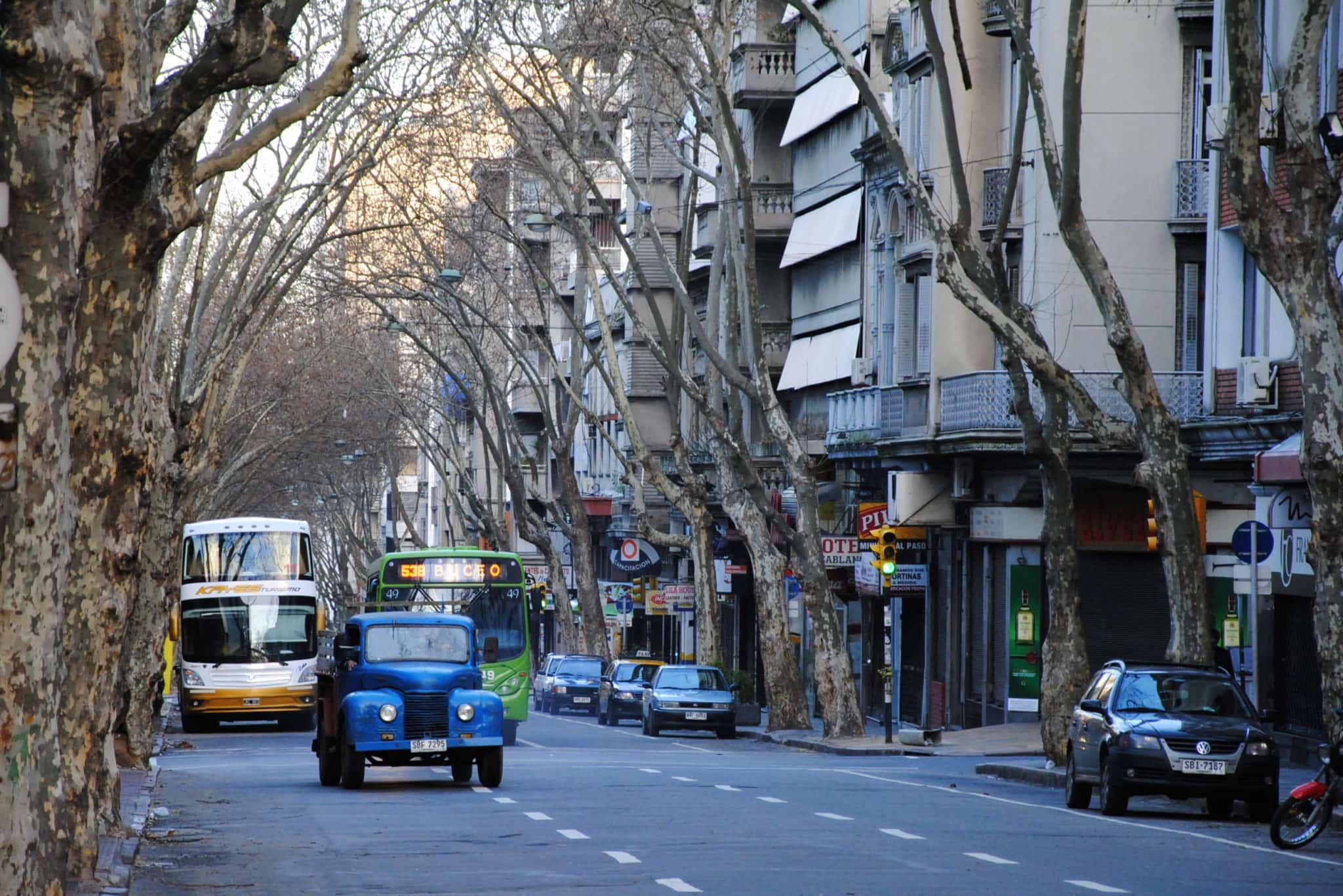 Como andar e se locomover em Montevidéu