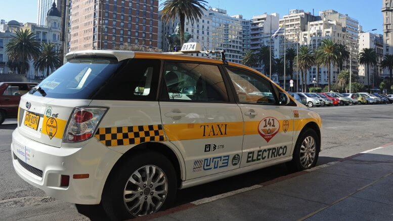 Como andar e se locomover em Montevidéu: táxi