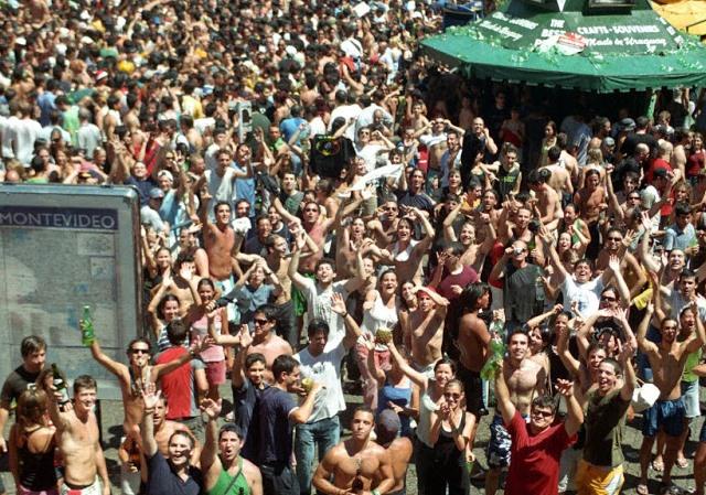 Ano Novo em Montevidéu: festa no Mercado del Puerto
