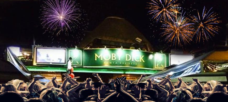 Ano Novo em Punta del Este: festa no pub Moby Dick