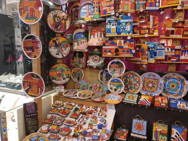 Onde comprar lembrancinhas e souvenirs em Montevidéu: souvenirs na Avenida 18 de Julio
